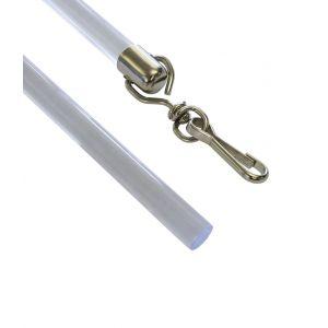 Поводки для штор (штороводители) с карабином, 75 см, 2 шт, пластик, Германия