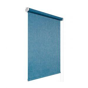 """Рулонная штора """"Наполи"""", цвет: тёмно-синий джинс, Польша"""