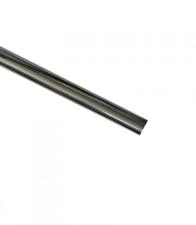 Штанга Ф16 мм, цвет хром блеск, 2.8 м, металл