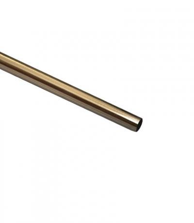 Штанга Ф16 мм, античное золото, 2,0 м, металл