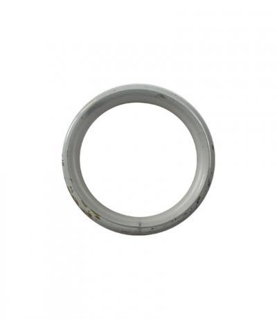 Кольца карниза Ф 25мм, бесшумные, цвет белое золото, 10 шт., металл