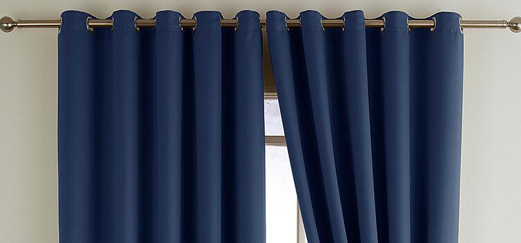 Люверсы - новое в дизайне штор